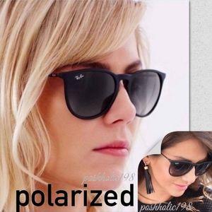 Brand NEW Ray-ban Erika Black Polarized